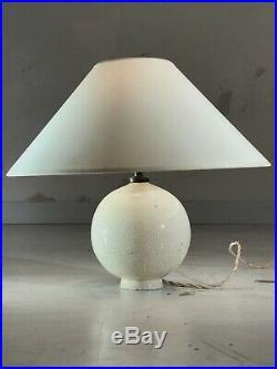 1930 Jean Besnard Str Lampe Art-deco Ceramique Moderniste Neo-classique Uam