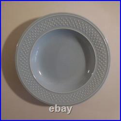 2 assiettes creuses céramiques faïences GENEVIEVE LETHU art déco France N3422