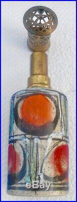 AUGÉ BRETAGNE Ancienne Lampe Berger motif abstrait modèle GL PASTILLE