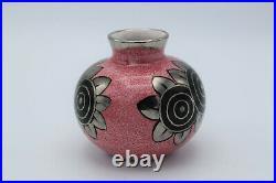 Alfred Renoleau (1854-1930) Vase Art Déco boule