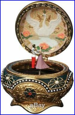 Anastasia Alexandra & Nicholas Hinged Trinket Box by The San Francisco Music