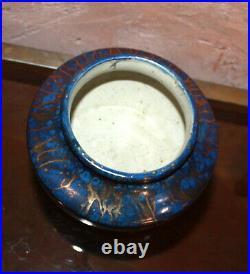 Ancien vase en Grès céramique signé Léon Pointu art déco 1879 1942