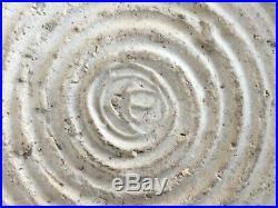 Ancien vase pansu long col sigle ÉMILE LENOBLE art deco pottery CERAMIQUE