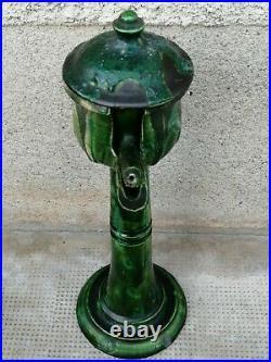 Ancienne lampe à huile Céramique Maroc Berbère Marocco lamp oil