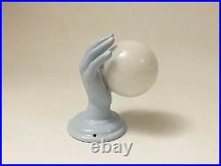 Applique Modernist Sconce Main Hand Céramique années 70 80 art deco Ceramic Lamp