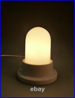 Art Déco Bauhaus Plafonnier Lampe Plafonnier Verre Céramique 1925 Classique
