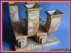 Art Deco Ceramique Nancy Mougin Ref 330. J Vase