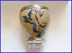 Art Déco Par Émile Balon Blois Un Pot Ou Vase En Céramique Décor De Grenouilles