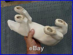 Bel Ours Ceramique Art Deco Email Crispe Sainte Radegonde Sevres No Craquele