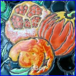 COUPE Céramique JEAN BAROL à VALLAURIS Art Déco 1930/cannes/massier/zsolnay/bacs