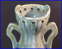 C superbe Gustave de Bruyn grand vase céramique art déco 2.2kg47cm fives lille