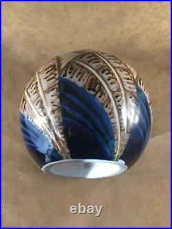 Camille Tharaud Limoges Grand Vase Boule / Ceramique / Art Deco