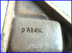 Ceramique Art Deco Signee D' Argyl