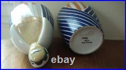Céramique Signée Robj Art Déco Bonbonnière Boîte