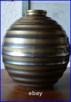 Céramique art déco Villeroy Septfontaines (Luxembourg) 1920/1930