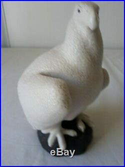 Céramique art déco sévres AIGLE matière crispée