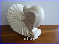 Ceramique craquelee art deco
