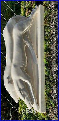 Ceramique craquelee art deco LEMANCEAU signé + tampon rare