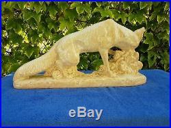 Céramique craquelée faïence art déco année 30 signé G. GILLOT Super état