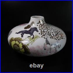 Céramique faïence design CONCETTA GALLO récipient vase art déco Italie N7083