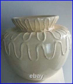 Céramique, vase boule ateliers Primavera art deco, ceramic vintage, pottery design