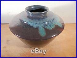 Céramique vintage 30 Rare & Important vase Toupie Art Déco PRIMAVERA DLG CAB