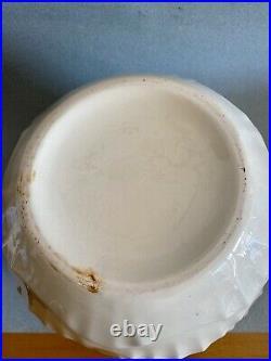 Charles Catteau / Boch Freres Keramis vase mouettes art deco céramique craquelé