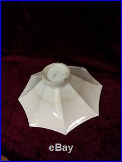 Coupe Art Deco Jean Luce Ceramique Craquelee