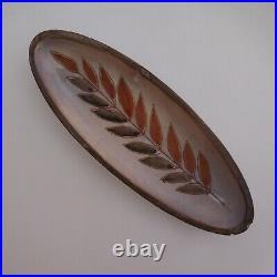 Coupelle récipient céramique faïence fait main art déco table XXe France N4097