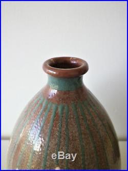Francis JOURDAIN Vase Céramique Art Déco