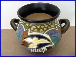 GOUDA IVORA Princess Céramique art nouveau poterie Néerlandais déco JUDGENSTIL