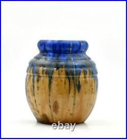 G. Méténier grès céramique vase art déco années 30 french ceramic