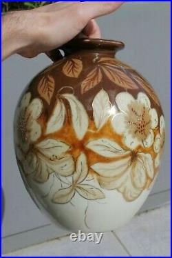 Grand Vase Boule Céramique Camille Tharaud Limoges Art Déco