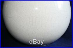 Grand vase boule céramique Art déco Jean Besnard pour Jacques Emile Ruhlmann