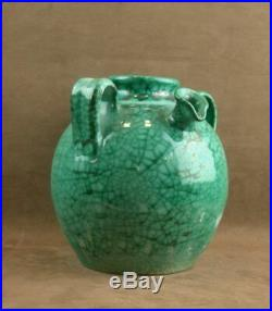 Importante Jarre En Ceramique Felix Gête Cab Atelier Primavera Art Deco