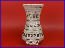 Jean Besnard, Joli Vase Art Déco en Céramique Craquelée