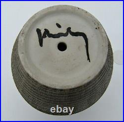 LUCIEN BRISDOUX, Pied de lampe céramique art déco 1930/40