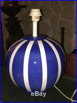 Lampe Boule En Céramique Style Art Deco Design By Louis Drimmer