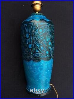 Lampe Ceramique Art Deco Raoul Lachenal