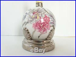 Lampe De Table Art Deco 1920 1930 Porcelaine Limoges Elbe Vintage 20s 30s