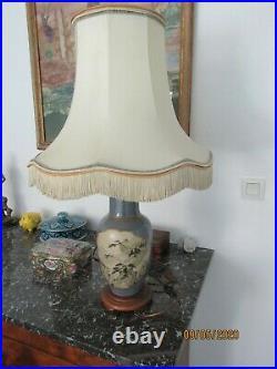 Lampe à poser décor peint à la main marque DRIMMER