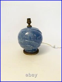 Lampe art deco Boule Céramique Bronze années 30