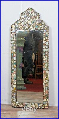Le facteur cheval Magnifique miroir créé avec des céramiques / RU2A