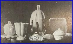 Louis SUE & André MARE, grande pièce de forme ART DECO, céramique faïence, 1925