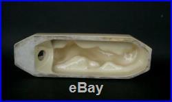 Magnif Lampe Veilleuse Art Deco En Ceramique Sculpture Chat Vers 1930