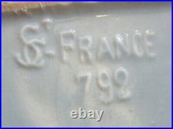 Nécessaire à Fumeur Paquebot Art Déco en Céramique St Clément Modèle 732