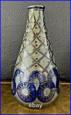 ODETTA QUIMPER Vase art deco en grès céramique 1930 adnet-keramis-HB