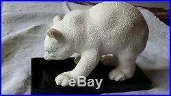 Ourson polaire céramique Art Déco Primavera ancien