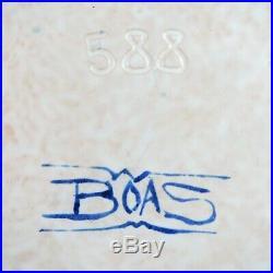 PAUL BONIFAS Assiette Céramique ART DECO 1930 Suisse/Boas/jacquet/dangar/moly
