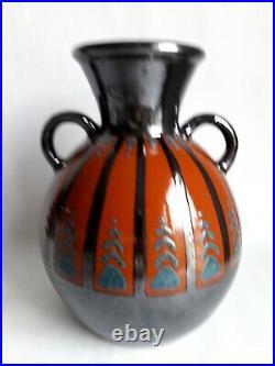 PAUL JACQUET céramique ART DÉCO Hauteur 27 cm